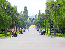 Friendship Boulevard in Stary Oskol