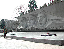 Memorial Eternal Flame in Stavropol