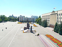 Lenina Square in Stavropol