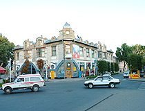 On the street in Stavropol