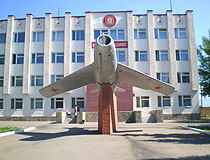 MiG-15 at the enlistment office in Sterlitamak