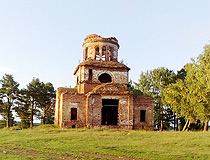 Abandoned church in the Sverdlovsk region