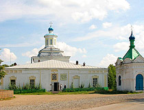Orthodox church in Sverdlovskaya oblast