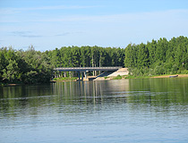 Bridge in Sverdlovskaya oblast