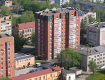 Apartment buildings in Syzran