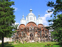 Restoration of the church in the Tambov region