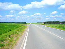 Paved road in Tatarstan