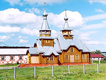 Wooden church in Tatarstan