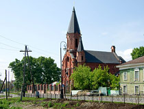 The Catholic Church of the Holy Trinity in Tobolsk