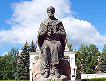 Monument to Saint Nicholas in Tolyatti