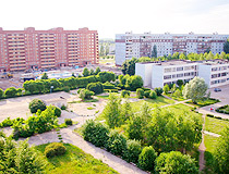 Apartment buildings in Tolyatti