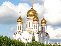 Transfiguration Cathedral in Tolyatti