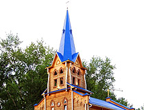 Wooden Lutheran Church of St. Mary in Tomsk