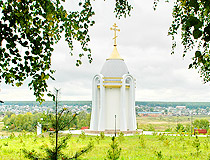 Orthodox chapel in the Tomsk region