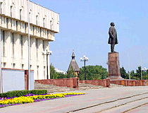 Lenin monument in Tula