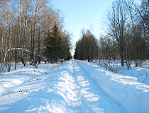 Winter in Tulskaya oblast
