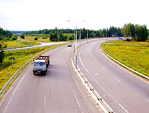 Highway in Tula oblast