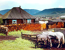 Rural life in Tuva