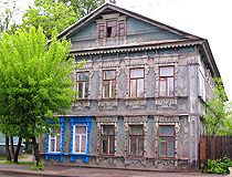 Wooden architecture in Tver