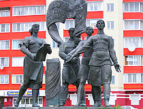 Agreement of thousands monument in Tver