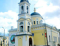 Church of the Ascension (Voznesenskaya) in Tver