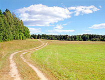 Field road in the Tver region