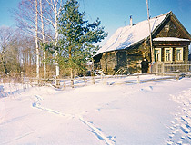 Winter in the Tver region