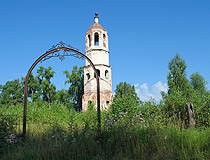 Abandoned church in Tver oblast