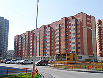 Apartment house in Tyumen