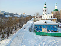 Church of the Ascension in Tyumen