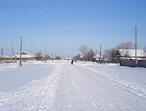Tyumen oblast winter