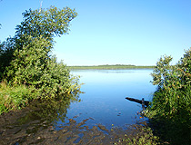 Tyumen region lake