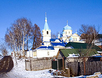Holy Cross Church in Ufa