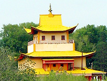 Buddhist temple in Ulan-Ude
