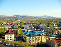 General view of Ulan-Ude