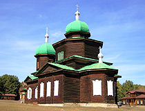 Church of St. Nicholas in Berezovka, Ulan-Ude