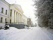 Ulianovsk winter scenery