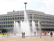 Ulianovsk fountain