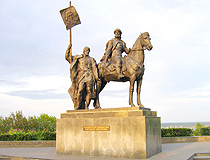 The monument to the founder of Simbirsk