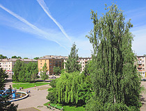 Velikie Luki is a green city