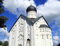 Church of the Transfiguration on Ilyin in Veliky Novgorod