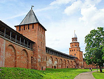Veliky Novgorod ancient fortress