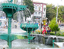 Vladikavkaz fountain