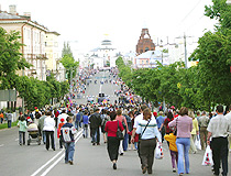 In the center of Vladimir