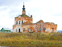 Vladimir oblast abandoned church