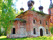 Vladimir region abandoned church