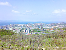 General view of Vladivostok
