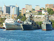 Vladivostok city scenery