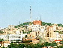 Vladivostok city view