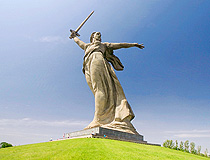 Motherland monument in Volgograd